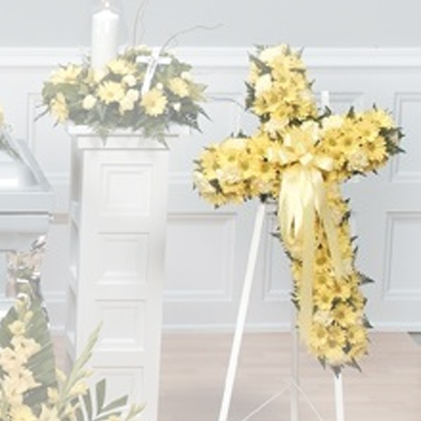 Forever Bright Cross Easel