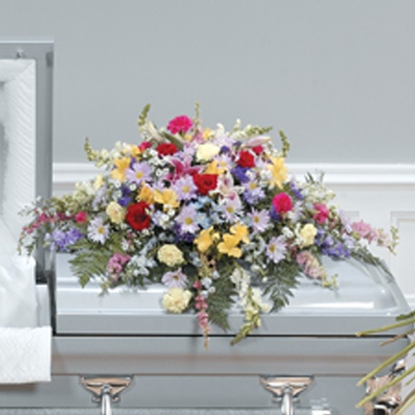 Wonderful Legacy Casket Spray