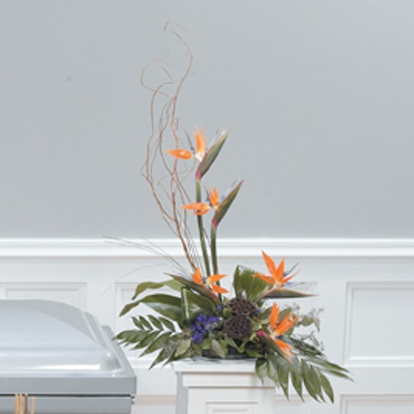 Rejoice In Paradise Pedestal Arrangement