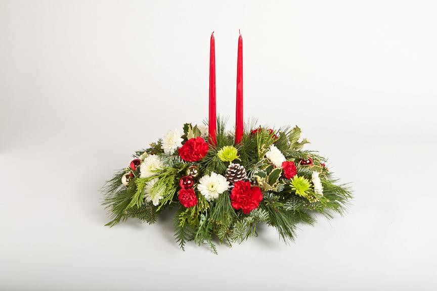 Holly holiday centerpiece sparr s plymouth mi florist