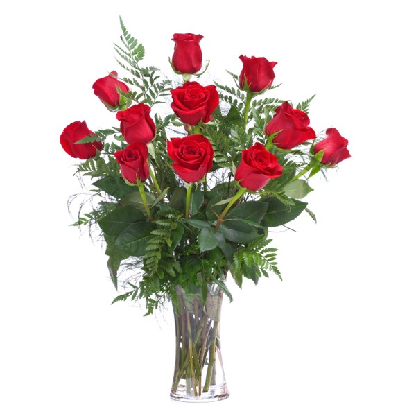 Red Roses Vase Vases Sale