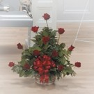 Resting Roses Small Arrangement