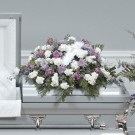 Peaceful Heart Casket Spray
