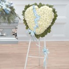 Heavenly Blue Heart Easel