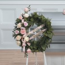 Tender Wreath Standing Spray