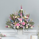 Blossoms Of Blessings Pedestal Spray