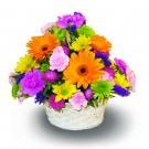 Think Spring Basket Arrangement